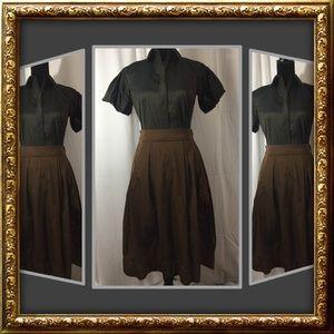 LIDA BADAY Tucked skirt,  4 (shirt sold separate)